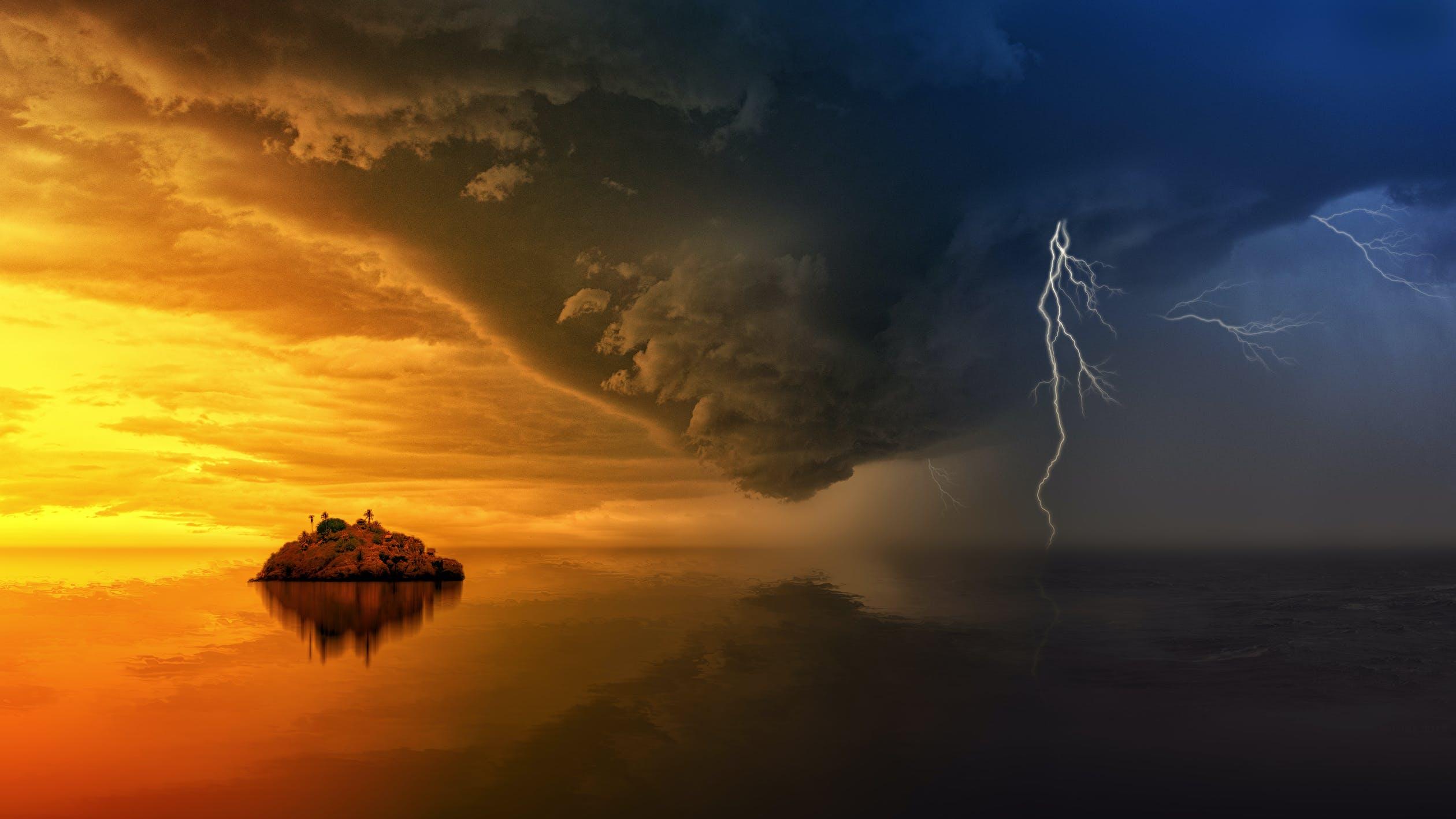 Fiszki język angielski. Kategoria Pogoda. Zdjęcie kategorii Pogoda